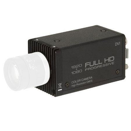 Toshiba IK-HR1D True 1080p Hi-Def Camera, 1920x1080 Output Pixels, Selectable 1080p/1080i, Digital DVI & Analog RGB Interface