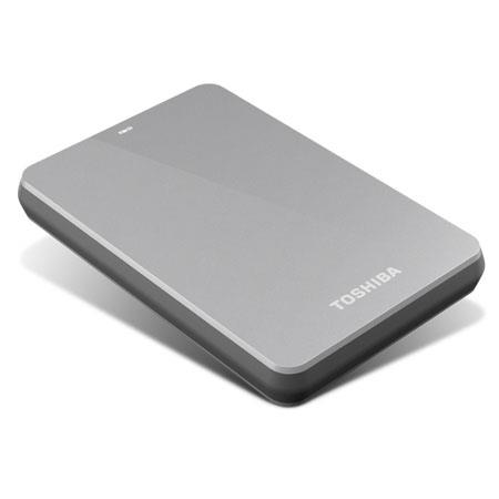 Toshiba Canvio 500GB USB 3.0 Portable Hard Drive, 5400 RPM Rotational Speed, Silver