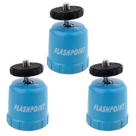 Flashpoint (3) Bottle-Top Pod, Support for Point-n-Shoot Digital Cameras -