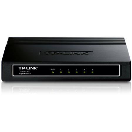 TP-Link 5-Port 10/100/1000M Gigabit Desktop Switch, 10Gbps Switch Capacity, 9V/0.6A AC Power