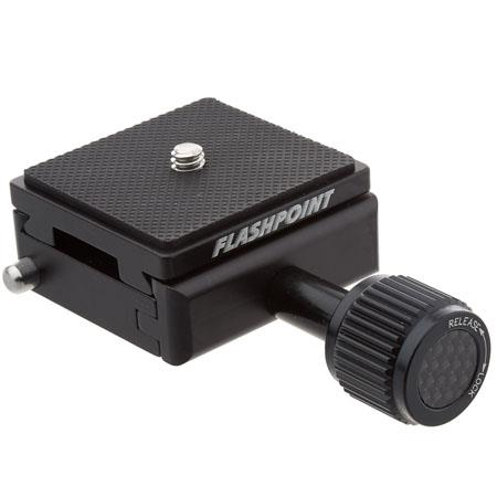 Flashpoint Quick Release Clamp with Quick Release Plate included