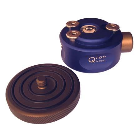 Ideesign Q Top Tripod Quick Release System. Consists Of a Base And Quick Release Plate With 1/4x20 Screw