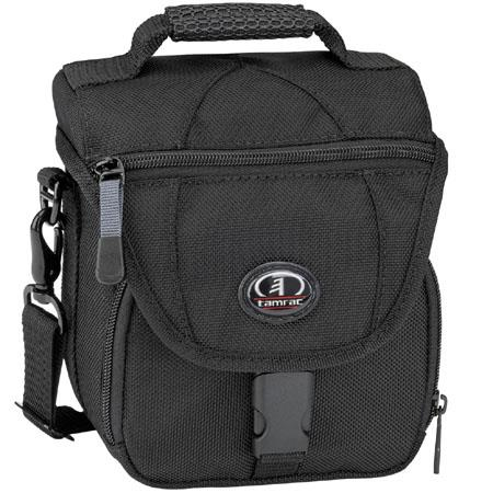 Tamrac 5696 Digital 6, Camera Bag for Larger Digital Cameras and Compact Digital Camcorders, Black.