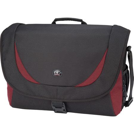 Tamrac 5725 Zuma 5 Photo/iPad/Netbook Bag, Black/Burgundy
