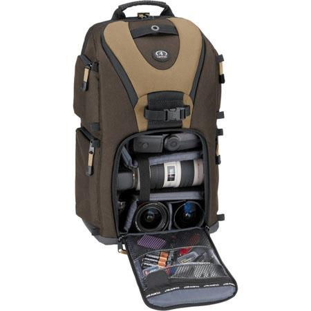 Tamrac 5788 Evolution 8, Photo / Laptop Sling Backpack, Brown / Tan image