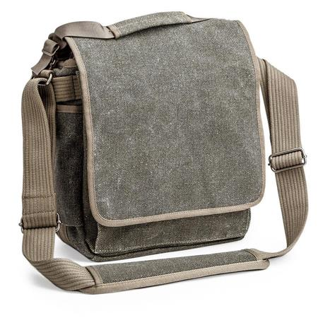 Think Tank Retrospective 20-GR Tall Shoulder Bag - Pinestone Cotton Canvas image
