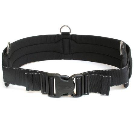 "Think Tank Steroid Speed Belt V2.0, Padded 3.5"" Wide Medium-Large Size Modulus Accessory Belt, Fits 32"" - 42"", 81 cm - 106 cm, Black image"
