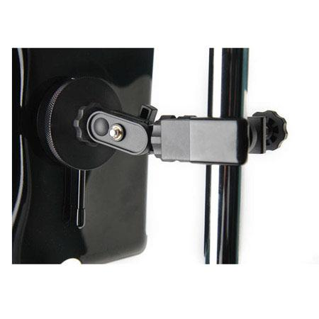 Tether Tools iPad Utility Mounting Kit with Wallee iPad 2 Black Case & EasyGrip ST Clamp