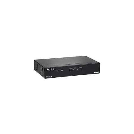 TV One 1T-DA-674 1x4 4K HDMI Distribution Amplifier, 300MHz Bandwidth, 100' Max Distance