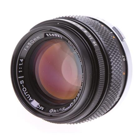 Olympus Olympus Zuiko 50mm f/1.4 Manual Focus Lens for Olympus OM
