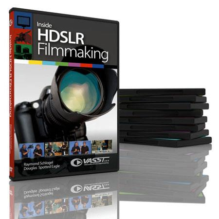 Vasst Training DVD: DSLR Inside HDSLR FIlmmaking - Create Stunning DSLR Imagery with Unlimited Possibilities