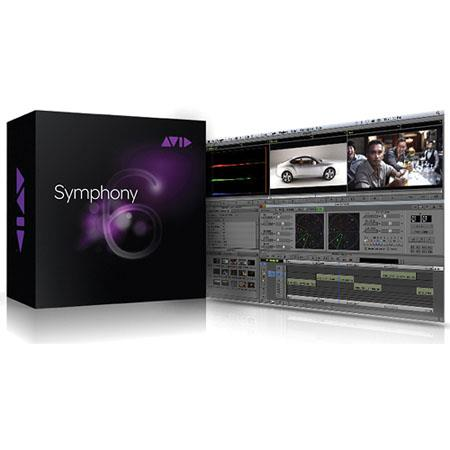 Avid Symphony 6 Upgrade from Media Composer for Mac and Windows, Xpress Pro, or Xpress DV