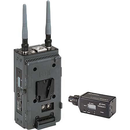 Azden 1200VMX UHF Plug-In System with 1200URX/VM On-Camera Receiver and 1200XT Plug-in Transmitter