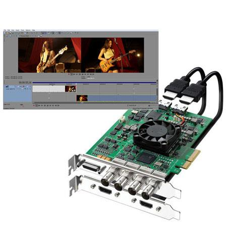 Blackmagic Design DeckLink HD Extreme 3D+ - Bundle - with Sony Vegas Pro 12 Video Editing Software