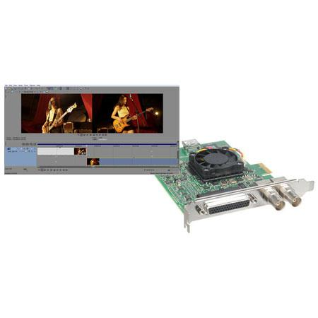 Blackmagic Design DeckLink Studio 2 SD/HD Broadcast Video PCI Express Capture Card - Bundle - with Sony Vegas Pro 12 Video Editing Software
