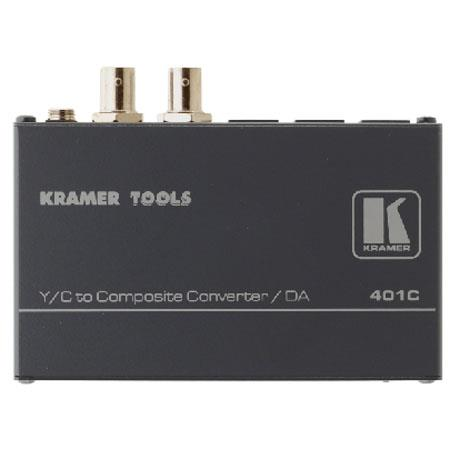 Kramer Electronics 401C Video Signal Converter and Distribution Amplifier, Y/C to Composite Video