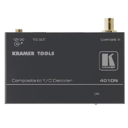 Kramer Electronics 401DN Analog Video Signal Converter, Composite (BNC) to Y/C (S-Video)