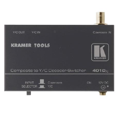 Kramer Electronics Video Signal Converter / Switcher, Composite (BNC) to Y/C (S-Video)
