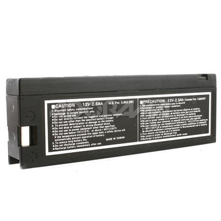 VariZoom Small NP Style VZ-Battery, 12 Volt, 1.2 Amp Rechargeable Battery for TFT Monitors.