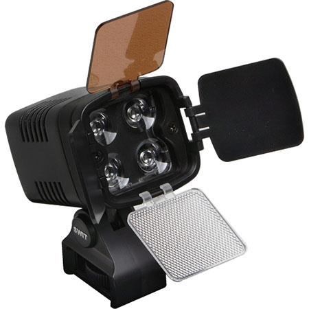 VariZoom S-2000 Dimmable On Camera DC Powered LED Light with d-tap Power Plug