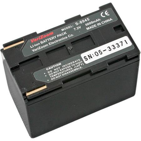 VariZoom S8945 High-Capacity 7.2 VDC Lithium-Ion Battery for Canon XL and GL Camcorders
