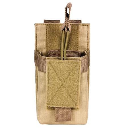 NcSTAR Vism Single Magazine Pouch, for a 5.56/223, or 7.62x39 Double Stack Magazine, Tan.
