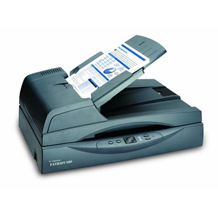 Visioneer P6801D-WU Patriot 680 Document Scanner, 600x1200dpi Optical Resolution, Hi-Speed USB Interface