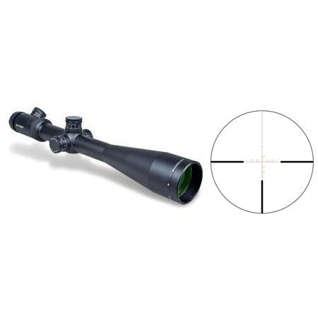Vortex Optics 6 - 24 x 50mm Viper PST Series Riflescope, Matte Black Finish with Illuminated EBR-1 MOA Reticle, 30mm Tube image