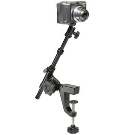 "Sharpics 2 Section 16"" Tabletop Monopod with 2"" Base Clamp image"