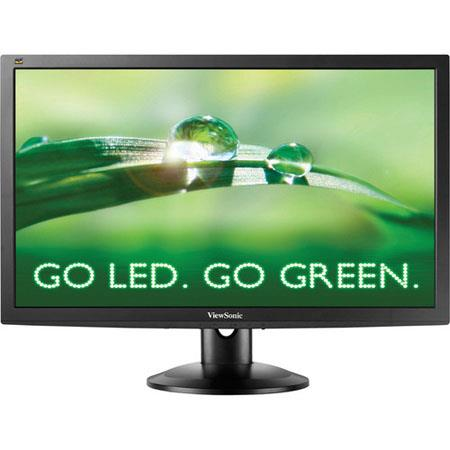 "ViewSonic VG2732m-LED 27"" Widescreen LED Computer Monitor, 1920 x 1080 Resolution, 1200:1 Contrast Ratio, 3 ms Response Time, 15-Pin Mini D-Sub/DVI-D"