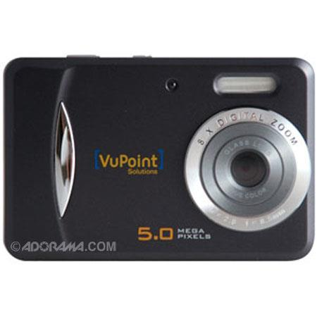 Vupoint Solutions DC-WPC-ST-591B-VP 5.0 Megapixels Waterproof Digital Still Camera with Video Capturing, 8x Digital Zoom, 2.0 inch LCD, SD Card Slot