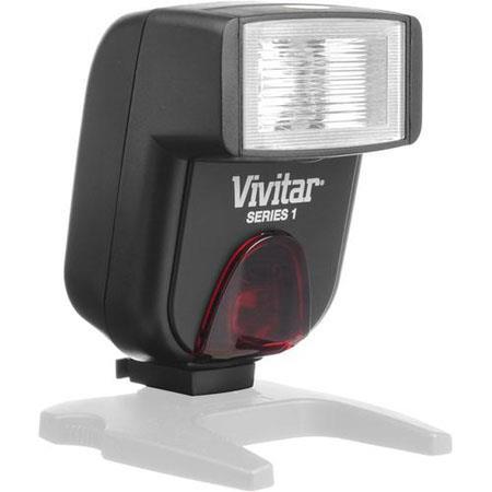 Vivitar DF183 Digital E-TTL Shoe Mount Power Zoom /Bounce Auto-Focus Flash for Canon Digital SLR's, Guide Number 45m (147')