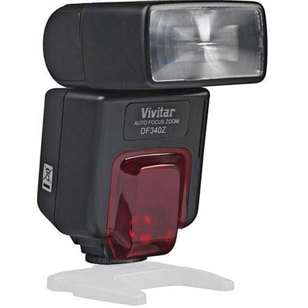 Vivitar DF340ZC Digital Autofocus Flash for Canon Digital Cameras, Guide Number 34 M / 112 ft (@50mm ISO 100) image