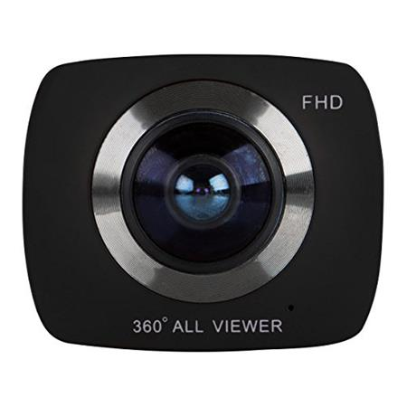 Vivitar 360Cam DVR 988HD 12.1MP Wi-Fi Action Camcorder, 4K HD 1080p
