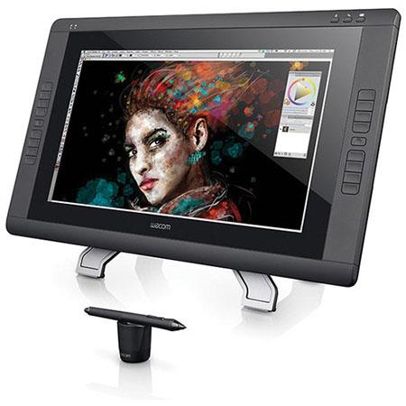 "Wacom Cintiq DTH2200 22"" HD Touch Pen Display, 1920x1080 Resolution, 16:9 Aspect Ratio, DVI-D Inputs"