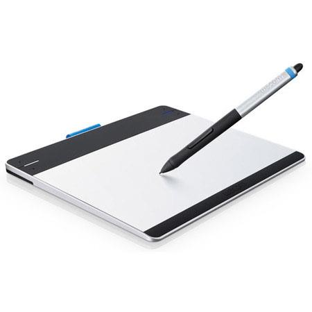 "Wacom CTH480 Intuos Pen & Touch Tablet, 6.0x3.7"" Active Area, 2540 lpi Resolution, 1024 Pressure Levels, Mac & Windows Compatible, Small"