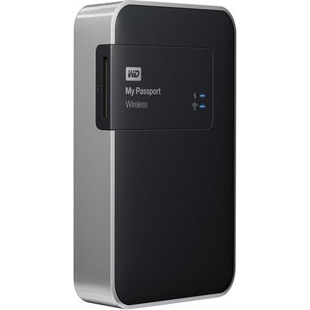 WD Digital My Passport 2 TB Wireless Mobile Storage Device