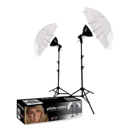 Westcott uLite 2 Light Umbrella Kit - Floodlight / Umbrella / Stand Outfit