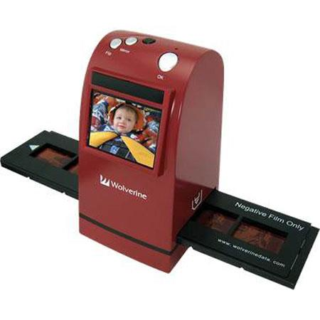 Wolverine 35mm Film into Digital Image Converter with Large Screen and TV-Out image