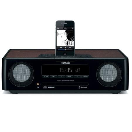 yamaha tsx 130bl desktop audio system ipod dock usb port fm radio cd player alarm modes find. Black Bedroom Furniture Sets. Home Design Ideas