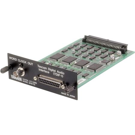 Yamaha 8 Channel TASCAM TDIF Digital Input/Output Expansion Card