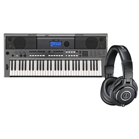 yamaha ez 200 yamaha 61 key portable keyboard with lighted. Black Bedroom Furniture Sets. Home Design Ideas