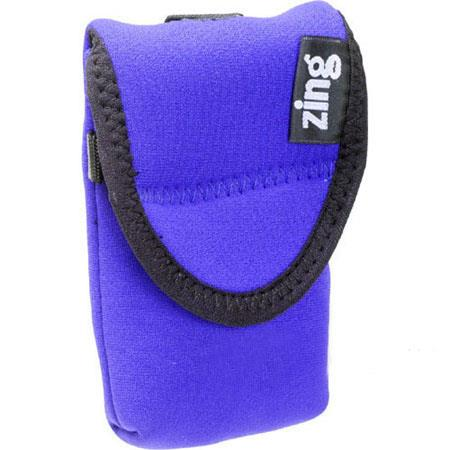 Zing Medium Camera/Electronics Belt Bag, Blue