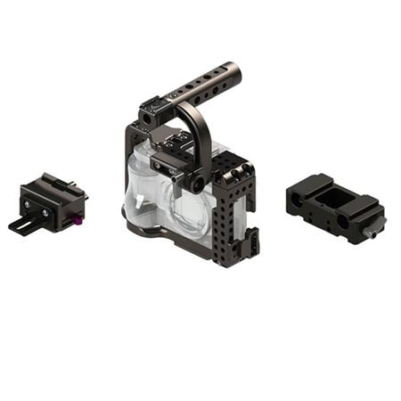 Movcam Cage Kit for Sony A7S Camera, Includes Riser Block, LWS Base Plate