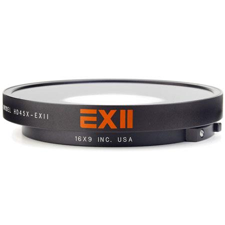 16x9 Ex II 0.45x Super Fisheye Lens Adapter With Bayonet Mount for Sony PMW-EX1 and PMW- EX3 Camcorders