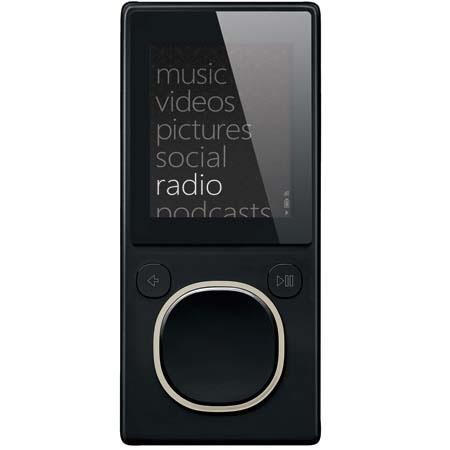 Microsoft Zune 4 GB Digital Media Player, Black image
