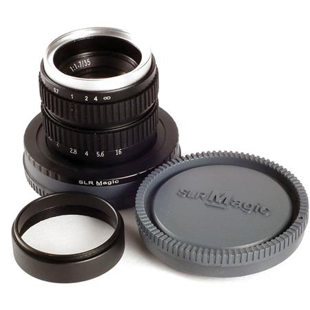SLR Magic 35mm f/1.7 MC lens for Sony E-mount