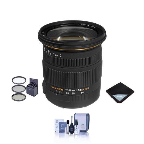 sigma 17 50mm f2 8 ex dc os hsm lens f canon usa 583101 bundle 85126583545 ebay. Black Bedroom Furniture Sets. Home Design Ideas