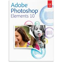 Adobe Photoshop Elements 10.0, Full Version Photo-Editing Software for Windows and Mac