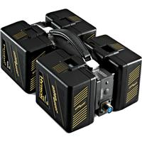 QBH-HD Quad Battery Holder, Handles any 4 Gold Mount Type Batteries with same Voltage Input Product picture - 772